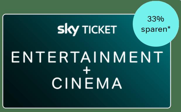 Serien+Film Kombi von Sky Ticket: 9,99€ für ALLES (33% sparen)