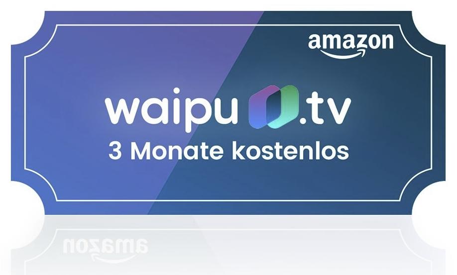 3 monate kostenlos waipu tv ber amazon tv streaming angebote. Black Bedroom Furniture Sets. Home Design Ideas