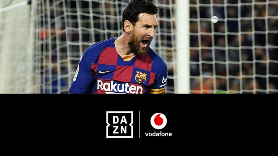 DAZN zu Vodafone (inkl. 2 DAZN Sender!) - JETZT: 1 Monat gratis, dann nur 9,99€