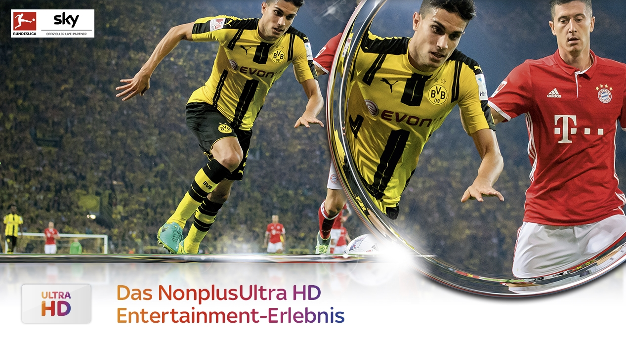 Live Fussball In Ultra Hd Bundesliga Champions League