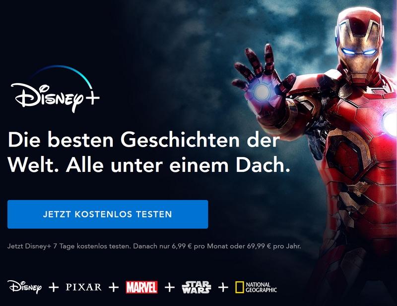 Disney + Angebot