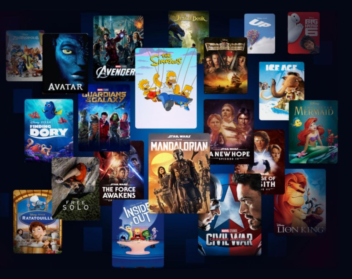 Alle 53 Disney+ Serien in der Übersicht