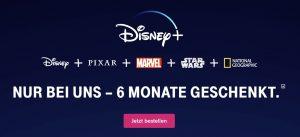 Disney+ kostenlos für Telekom-Kunden - JETZT für 0,00€ buchen und streamen!