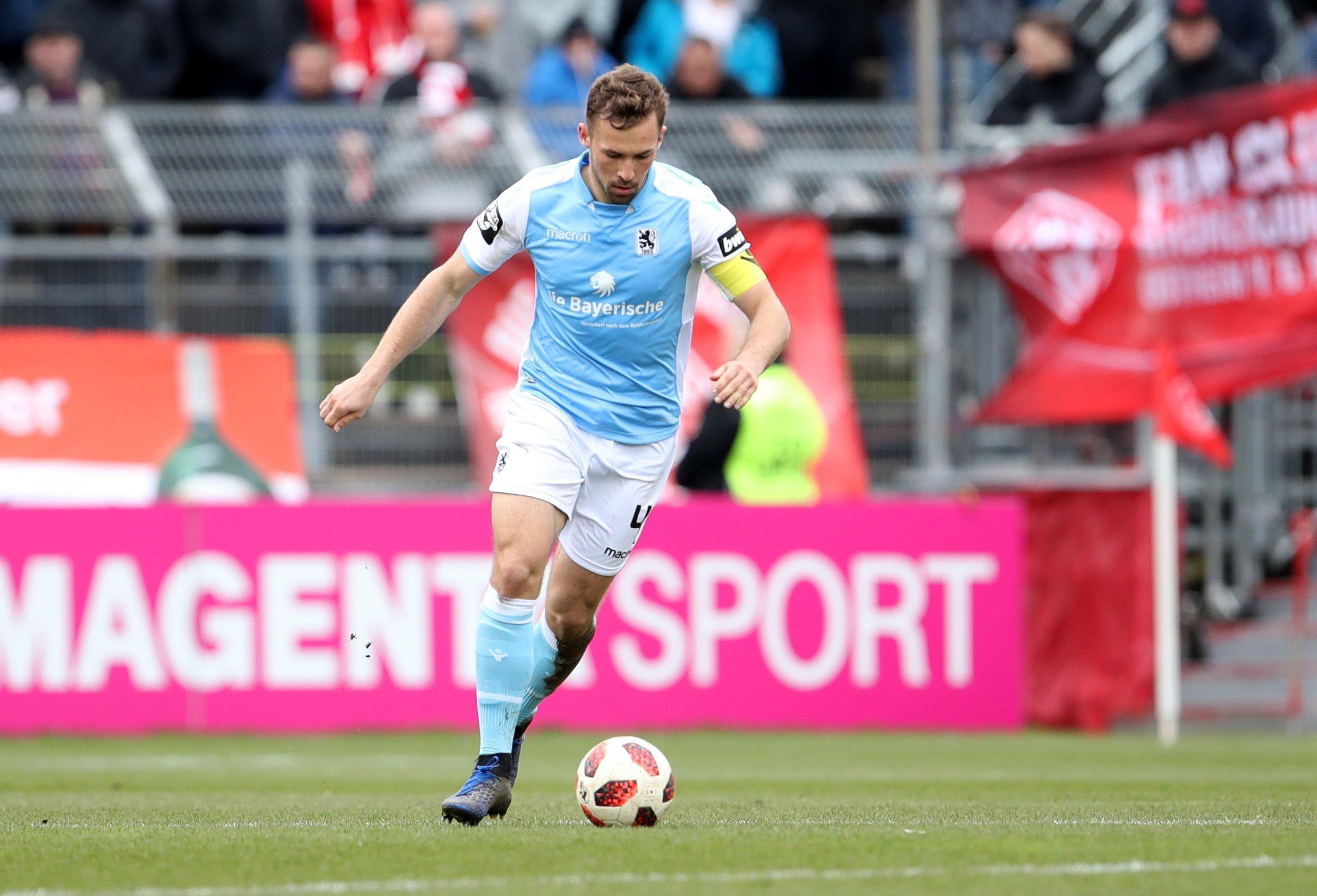 Fussball - 3. Liga - FC Wuerzbuger Kickers - TSV 1860 Muenchen