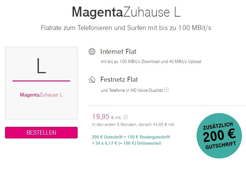 Magentazuhause Angebote Ab 19 95 Inkl Extras Mai 2021