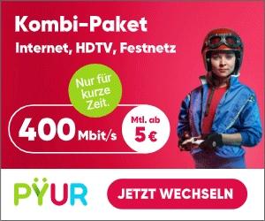 PŸUR Kombi-Angebot: JETZT: ab 5€ + 6 Freimonate!