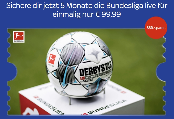 5 Monte Sky Ticket Supersport für 99,99€ einmalig (33% sparen)!