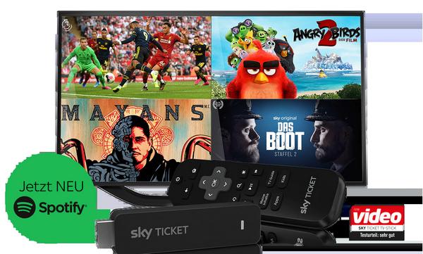 Sky Ticket TV Stick mit Kombi-Rabatt für 29,99€