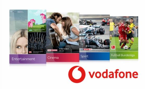 5€ Preisvorteil für Sky zu Vodafone