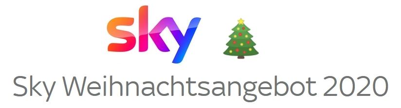 Sky Weihnachtsangebot