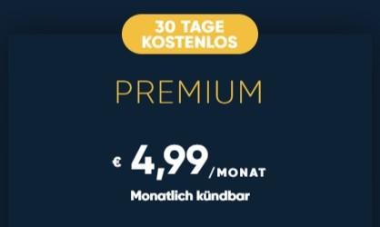 TVnow PREMIUM jetzt 30 Tage kostenlos testen!