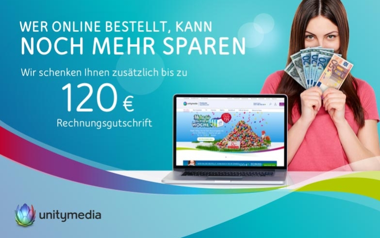 3Play Jump 120 - TV plus Internet nur 34,99€/Monat - 120€ sparen