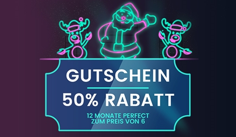 50% Rabatt auf waipu.tv Perfect - 12 Monate zum halben Preis!